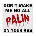 Palin 2012 Tile Coaster