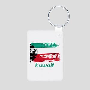 Kuwait Aluminum Photo Keychain