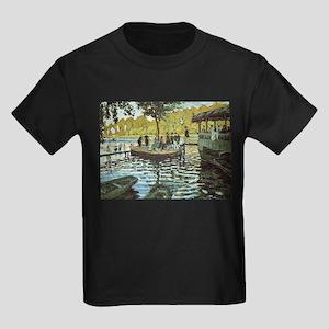 La Grenouillere Claude Monet fine art pain T-Shirt