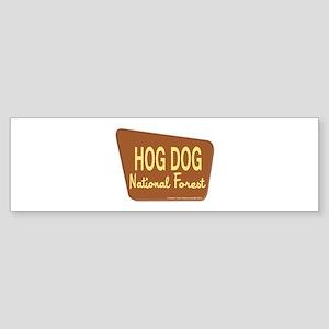 Hog Dog Sticker (Bumper)