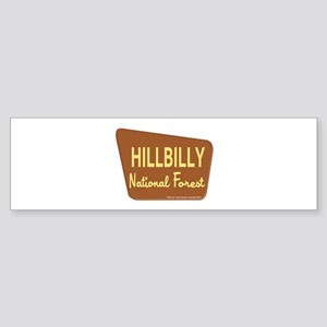 Hillbilly Sticker (Bumper)