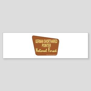 German Shorthaired Pointer Sticker (Bumper)