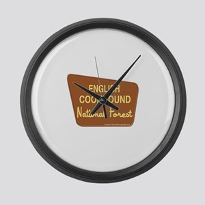 English Coonhound Large Wall Clock
