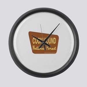 Coon Hound Large Wall Clock
