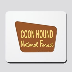 Coon Hound Mousepad