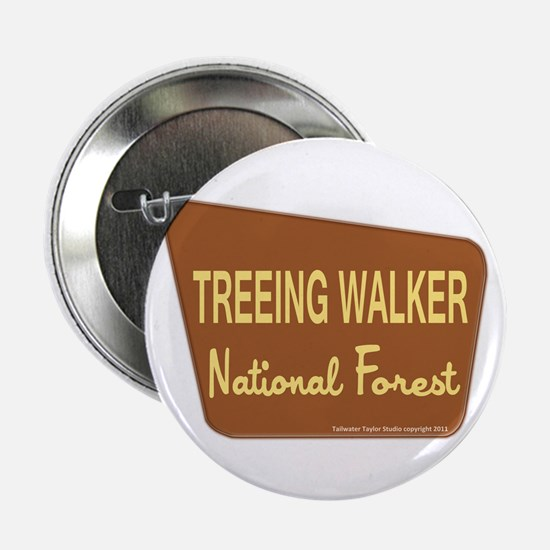 "Treeing Walker 2.25"" Button"