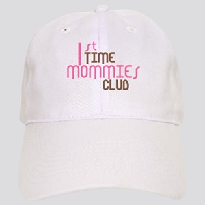 1st Time Mommies Club (Pink) Cap