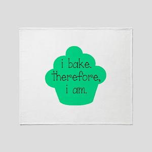 I am. Throw Blanket