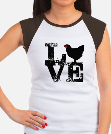 Love T Shirt, Chicken T Shirt T-Shirt