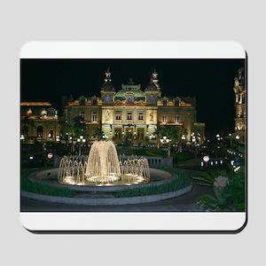 Monte Carlo Casino at Night Mousepad