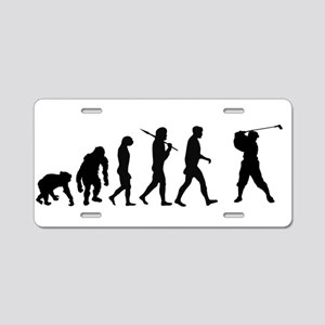 Evolution of Golf Aluminum License Plate