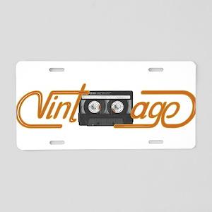 VINTAGE MIX TAPE Aluminum License Plate
