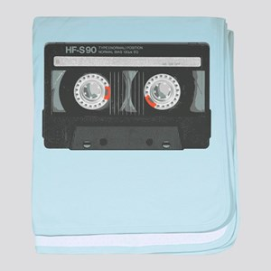 MIX TAPE CASSETTE baby blanket