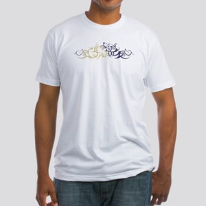 Sun & Moon Dogs Fitted T-Shirt