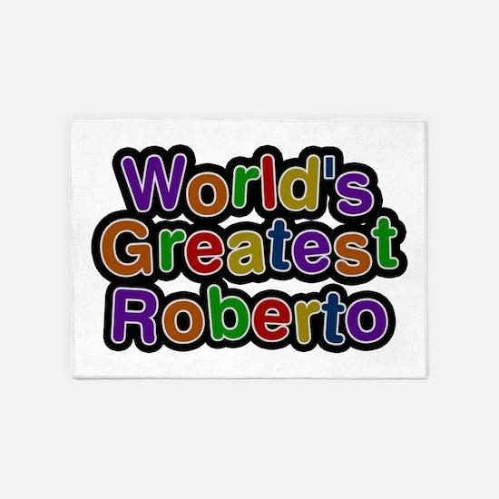 World's Greatest Roberto 5'x7' Area Rug