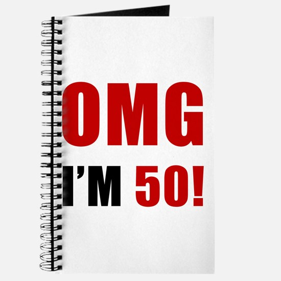 OMG 50th Birthday Journal