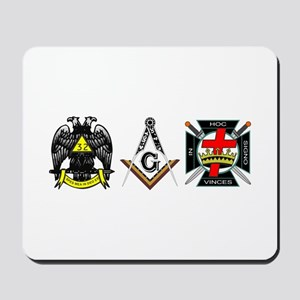 Multiple Masonic Bodies Mousepad