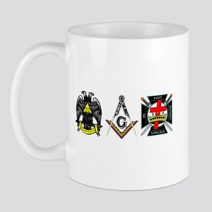 Multiple Masonic Bodies Mug
