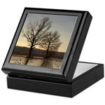Two Against the Cold Keepsake Box