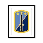 170th Infantry BCT Framed Panel Print