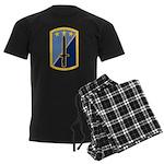 170th Infantry BCT Men's Dark Pajamas