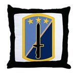170th Infantry BCT Throw Pillow