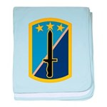 170th Infantry BCT baby blanket