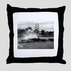 Pontchartrain Beach 1941 Throw Pillow