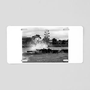 Pontchartrain Beach 1941 Aluminum License Plate