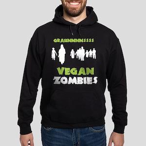 Vegan Zombies Hoodie (dark)