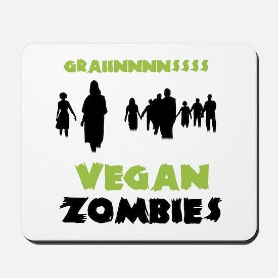 Vegan Zombies Mousepad
