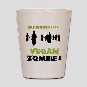Vegan Zombies Shot Glass