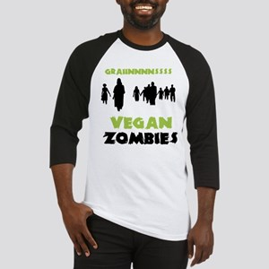 Vegan Zombies Baseball Jersey