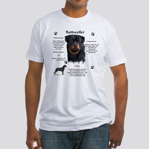 Rottie 1 Fitted T-Shirt