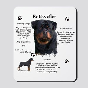 Rottie 1 Mousepad