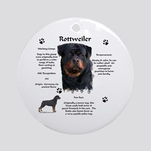 Rottie 1 Ornament (Round)