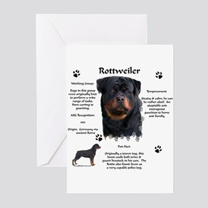 Rottie 1 Greeting Cards (Pk of 10)