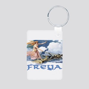 Freya Aluminum Photo Keychain