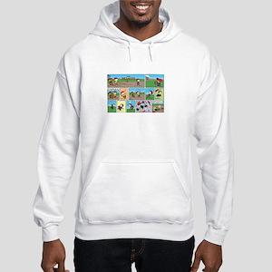 Great Throwing Arm Hooded Sweatshirt