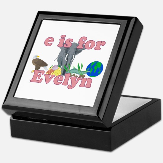 E is for Evelyn Keepsake Box