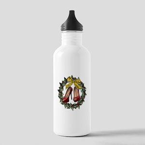 Red Stiletto Shoe Chri Stainless Water Bottle 1.0L