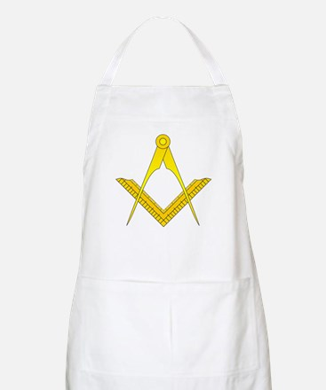 English Style Square and Compass Apron