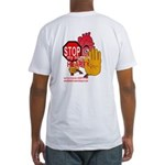 HEARTY Fitted T-Shirt