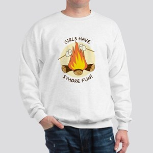 """Girls Have S'more Fun"" Sweatshirt"