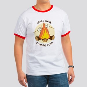 """Girls Have S'more Fun"" Ringer T"