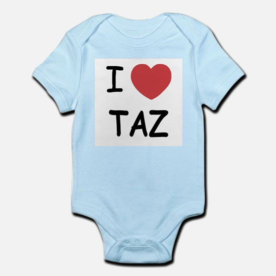 I heart taz Infant Bodysuit