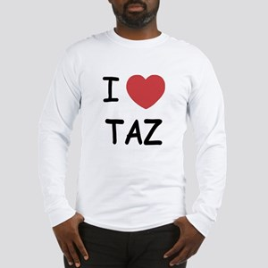 I heart taz Long Sleeve T-Shirt