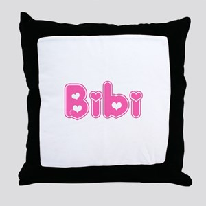"""Bibi"" Throw Pillow"