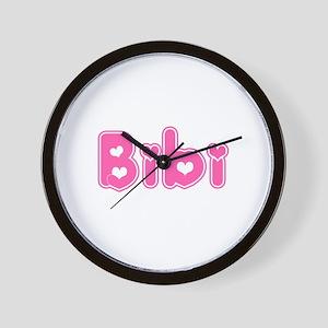 """Bibi"" Wall Clock"