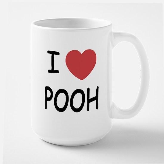 I heart pooh Large Mug
